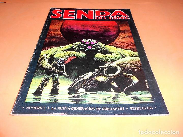 SENDA DEL COMIC Nº 2. NEDISA EDITORA. 1979. BUEN ESTADO (Tebeos y Comics Pendientes de Clasificar)