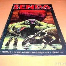 Cómics: SENDA DEL COMIC Nº 2. NEDISA EDITORA. 1979. BUEN ESTADO. Lote 136812918
