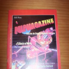Cómics: PULPMAGAZINE - NÚMERO 0 - AÑO 2000 - MUY BUEN ESTADO. Lote 136864030
