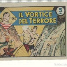 Cómics: FACSIMIL: GIM TORO NUM 11, AGOSTO 1946 - IL VORTICE DEL TERRORE. Lote 137198232