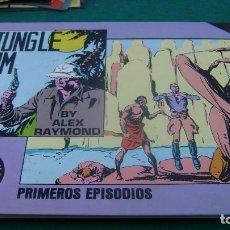 Cómics: JUNGLE JIM- ALEX RAYMOND- SERIE CRONOLOGICA + PRIMEROS EPISODIOS,ED.NUMERADA-ESEUVE ESTINTIN. Lote 137238986
