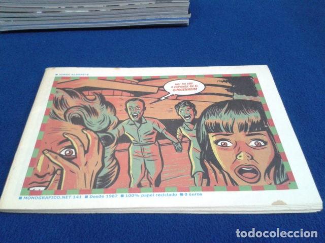 REVISTA MONOGRAFICO. 141 ( JORGE ALDERETE ) 63 PAGINAS NO! NO VOY A EXPONER EN EL GUGGENHEIM (Tebeos y Comics Pendientes de Clasificar)