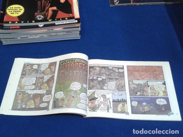 Cómics: REVISTA MONOGRAFICO. 141 ( JORGE ALDERETE ) 63 PAGINAS NO! NO VOY A EXPONER EN EL GUGGENHEIM - Foto 6 - 137256222