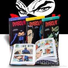 Cómics: PACK DIABOLIK. 3 CÓMICS - BARISON/ZANIBONI (CARTONÉ) DESCATALOGADO!!! OFERTA!!!. Lote 137256666