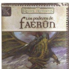 Cómics: REINOS OLVIDADOS LOS PODERES DE FAERUN. Lote 137308954