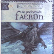 Cómics: REINOS OLVIDADOS LOS PODERES DE FAERUN. Lote 137309094