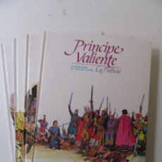 Cómics: PRÍNCIPE VALIENTE - 4 TOMOS - HAROLD R. FOSTER - BURULAN - TAPA DURA. Lote 137329142