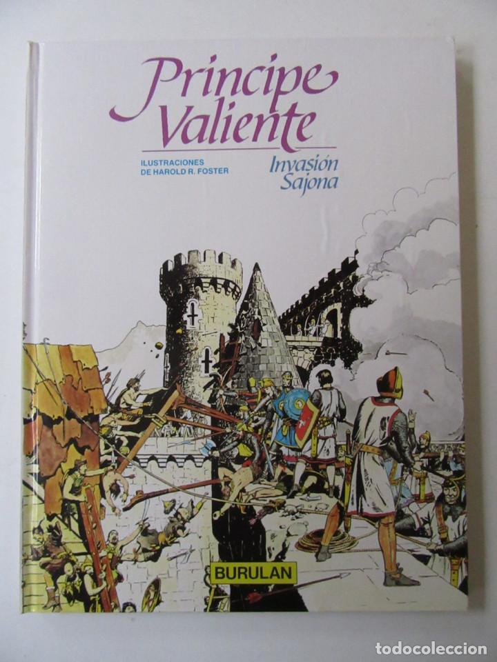 Cómics: PRÍNCIPE VALIENTE - 4 TOMOS - HAROLD R. FOSTER - BURULAN - TAPA DURA - Foto 3 - 137329142