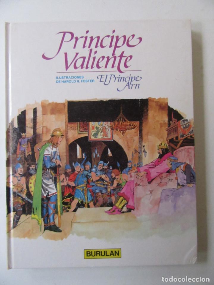 Cómics: PRÍNCIPE VALIENTE - 4 TOMOS - HAROLD R. FOSTER - BURULAN - TAPA DURA - Foto 4 - 137329142