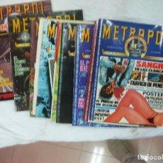 Cómics: METROPOL. COMPLETA 12 NUMEROS. METRO COMICS. EDICIONES METROPOL 1983-1984. Lote 252372695