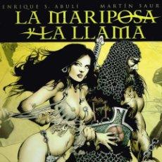 Cómics: LA MARIPOSA Y LA LLAMA.ABULÍ-SAURÍ.NORMA EDITORIAL. Lote 137445594