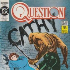Cómics: QUESTION. ZINCO 1988. Nº 33. Lote 261667510