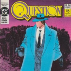 Cómics: QUESTION. ZINCO 1988. Nº 34. Lote 261667515