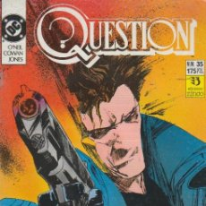 Cómics: QUESTION. ZINCO 1988. Nº 35. Lote 261667525