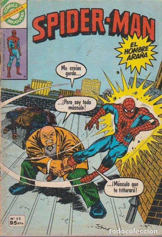 SPIDERMAN. BRUGUERA 1980. Nº 52 (Tebeos y Comics - Comics otras Editoriales Actuales)