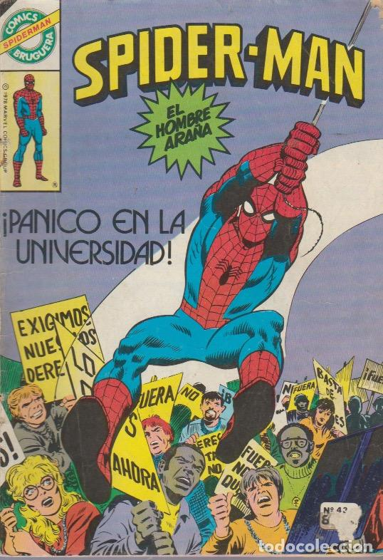 SPIDERMAN. BRUGUERA 1980. Nº 42 (Tebeos y Comics - Comics otras Editoriales Actuales)