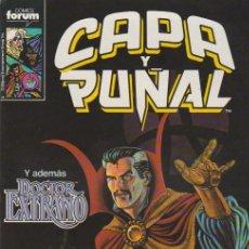 Cómics: CAPA Y PUÑAL. FORUM 1989. Nº 12. Lote 137522781