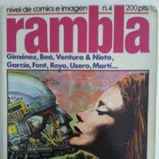 Cómics: COMIC RAMBLA N°4. Lote 137792792