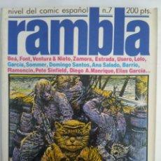 Cómics: COMIC RAMBLA N°7. Lote 137792917