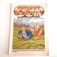 Cómics: PATUFET - N°14 / 6 JUNI 1969. Lote 137825790