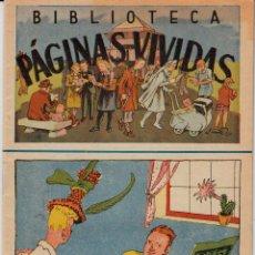 Cómics: BIBLIOTECA - PÁGINAS VIVIDAS POR JOSÉ MARIA FOLCH Y TORRRES NUM. 32 1,25 PTAS.. Lote 137896218