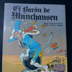 Cómics: EL BARON DE MUNCHAUSEN / J.L. DE LA FUENTE / ED.SEDMAY AÑO 1975. Lote 137896862