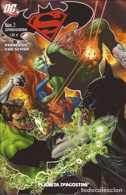 COMIC- SUPERMAN BATMAN Nº 2 DC COMICS PLANETA (Tebeos y Comics Pendientes de Clasificar)