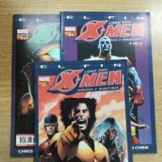 Cómics: X-MEN EL FIN LIBRO DOS HEROES Y MARTIRES COLECCION COMPLETA (3 NUMEROS). Lote 137972420