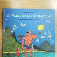 Cómics: EL VALLE DE LAS MARAVILLAS CAZADOR-RECOLECTOR (JOANN SFAR) (SINS ENTIDO). Lote 137973069