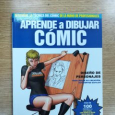 Cómics: APRENDE A DIBUJAR COMIC #7 DISEÑO DE PERSONAJES #1 (DOLMEN). Lote 137975537
