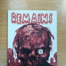 Cómics: REMAINS (RECERCA). Lote 142435897