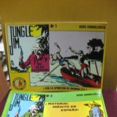 Cómics: JUNGLE JIM. Nº 1 Y Nº 2. ALEX RAYMOND. EDICIONES ESEUVE 1992. Lote 138057554