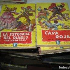 Cómics: GRAN LOTE DE NOVELAS CAPA ROJA. Lote 138085554