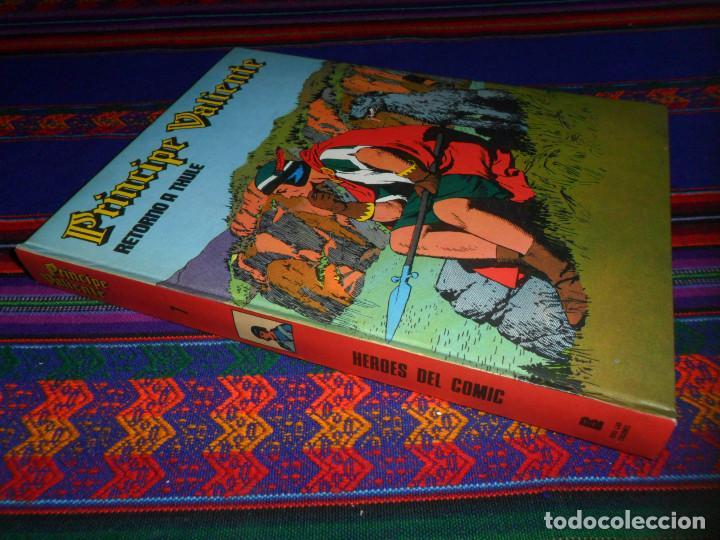 PRÍNCIPE VALIENTE TOMO Nº 7, RETORNO A THULE. BURU LAN 1973. MUY BUEN ESTADO Y DIFÍCIL. (Tebeos y Comics - Buru-Lan - Principe Valiente)