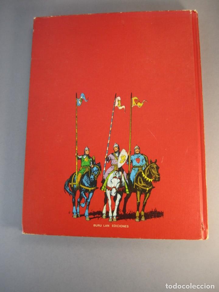 Cómics: Príncipe Valiente Tomo 4.(IV) Regreso a la Patria. Buru Lan 1972. Tapas duras. - Foto 2 - 138226538