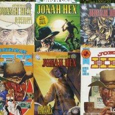 Cómics: LOTE JONAH HEX. EDITORIALES ROLLÁN Y PLANETA DEAGOSTINI.. Lote 138605010