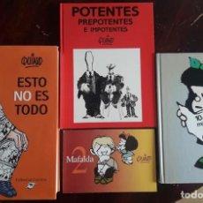 Cómics: OPORTUNIDAD!-LOTE 3 LIBROS DE QUINO MAS MAFALDA NUMERO 2 DE REGALO-LUMEN. Lote 138679542