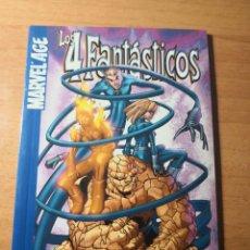 Cómics: LOS 4 FANTASTICOS MARVEL AGE 1. Lote 138685094