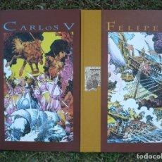 Cómics: CARLOS V; FELIPE II. ANTONIO HERNÁNDEZ PALACIOS.. Lote 138742130
