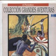 Cómics: EL PERIODICO: GRANDES AVENTURAS TOMO SEGUNDO NUMERO 01: LOS HIJOS DEL CAPITAN GRANT. Lote 138785721