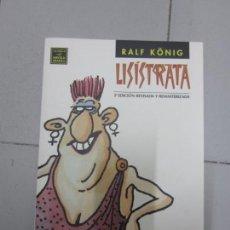 Cómics: RALF KONING LISISTRATATA . Lote 138823910