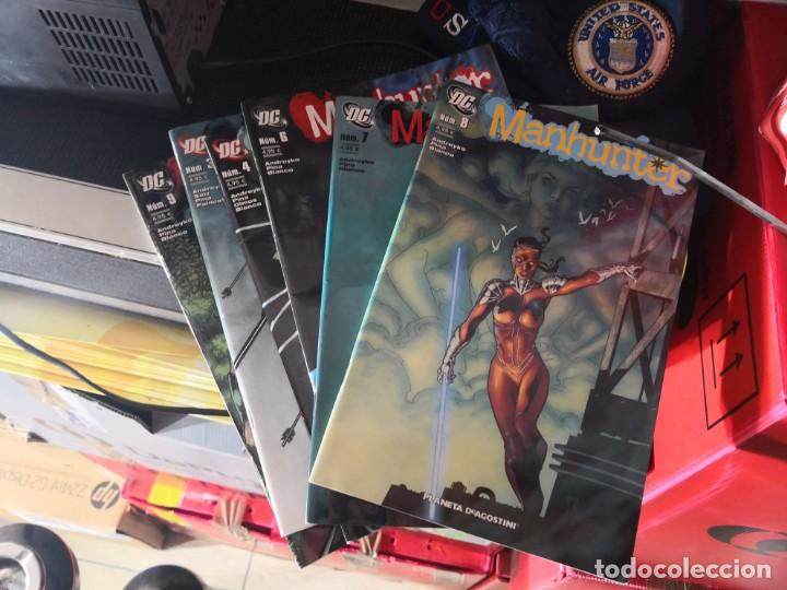 LOTE DE 6 COMIC MANHUNTER DC, NÚMEROS :7,8,6,9,4,3. PLANETA DE AGOSTINI (Tebeos y Comics - Comics Colecciones y Lotes Avanzados)