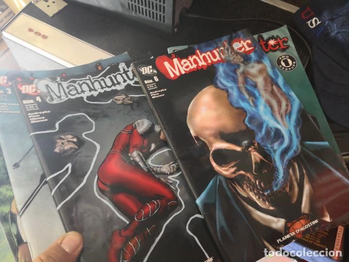 Cómics: Lote de 6 comic Manhunter DC, NÚMEROS :7,8,6,9,4,3. Planeta DE AGOSTINI - Foto 3 - 138844414