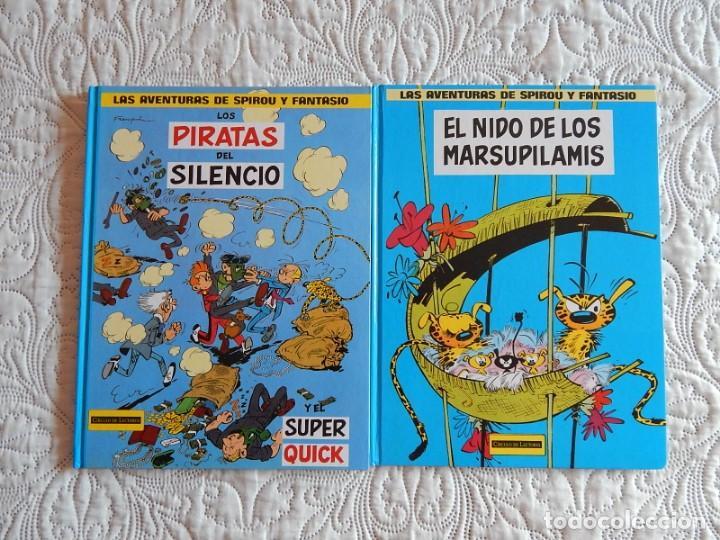 LAS AVENTURAS DE SPIROU Y FANTASIO - COLECCION DE 2 TOMOS DE CIRCULO DE LECTORES (Tebeos y Comics Pendientes de Clasificar)