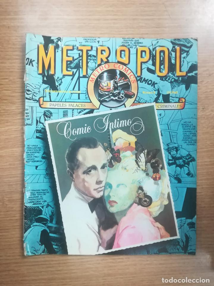 METROPOL #8 (Tebeos y Comics Pendientes de Clasificar)