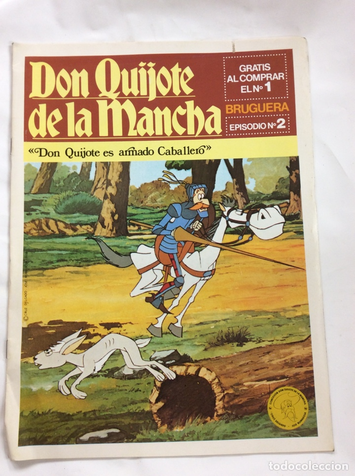 DON QUIJOTE DE LA MANCHA 1 - BRUGUERA (Tebeos y Comics Pendientes de Clasificar)