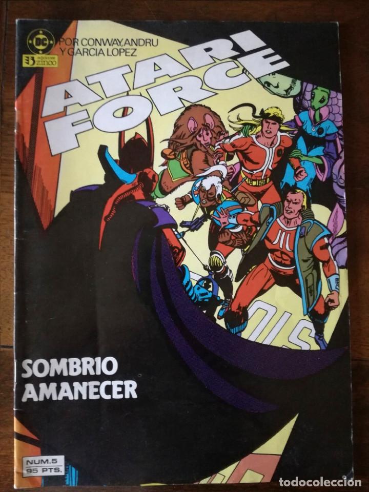 Cómics: 2 Atari Force nº 5-13 Zinco DC Conway Andru Barreto y García López nuevo 1983 - Foto 2 - 101442467