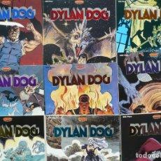 Cómics: DYLAN DOG. TIZIANO SCLAVI. EDICIONES B, 9 NÚMEROS.. Lote 139202182
