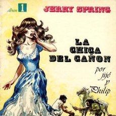 Cómics: LA CHICA DEL CAÑÓN ( SEPP/MUNDIS, 1979) DE JIJÉ. COLECCIÓN JERRY SPRING-1.. Lote 139358222