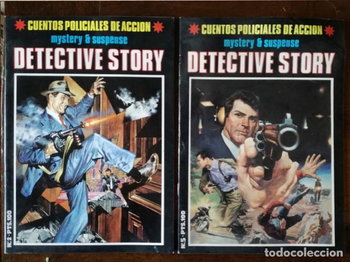 DETECTIVE STORY 5 UNIDADES Nº 1-2-3-4-5 MISTERIO SUSPENSE 1989 NEW COMIC NUEVO (Tebeos y Comics - Comics otras Editoriales Actuales)